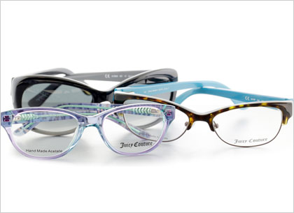 jucy couture eyeglasses